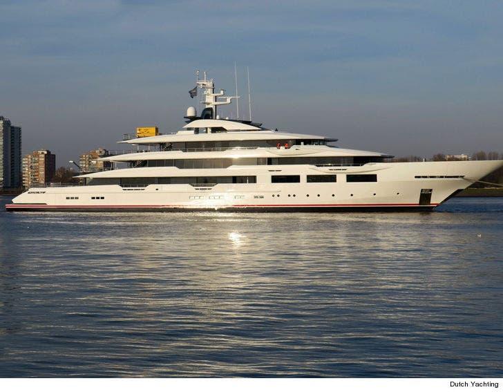 Falcons Owner Arthur Blank Buys 180 Million Superyacht