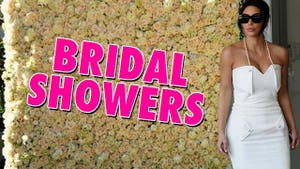 Kim Kardashian -- Way Too Many Salad Bowls for Another Wedding Shower