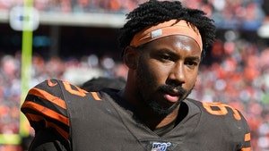 Myles Garrett's Season-Long Suspension Upheld In Helmet Attack Case