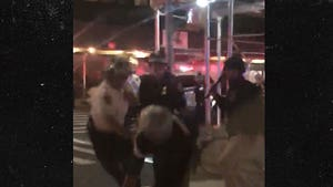 NYPD Cops Violently Strike Man with Batons After Curfew