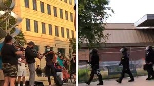 Aurora PD Boots and Pepper Sprays Peaceful Protesters at Violin Vigil for Elijah McClain