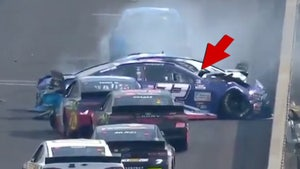 NASCAR's Corey LaJoie 'Trump 2020' Car Wrecked Just 16 Laps Into Brickyard 400