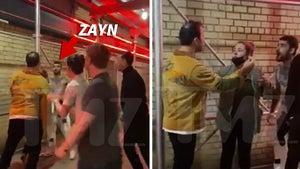 Zayn Malik Goes Shirtless in Near-Brawl Outside NYC Bar