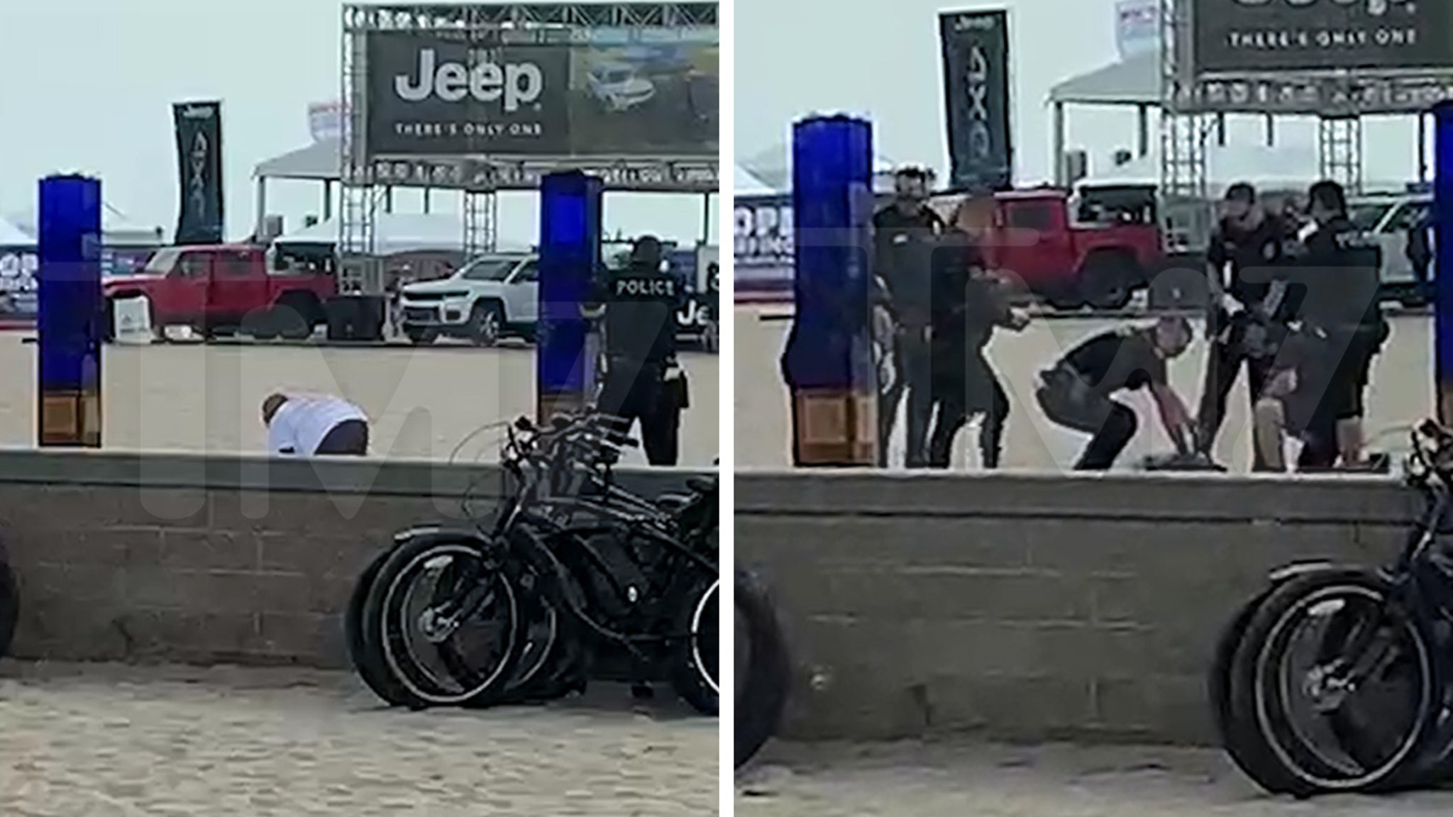 Man Unloaded On in Point Blank Police Shooting at Huntington Beach Pier thumbnail