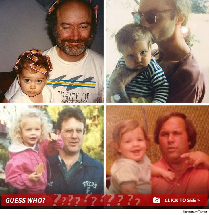 Father's Day Throwbacks -- Guess Who!