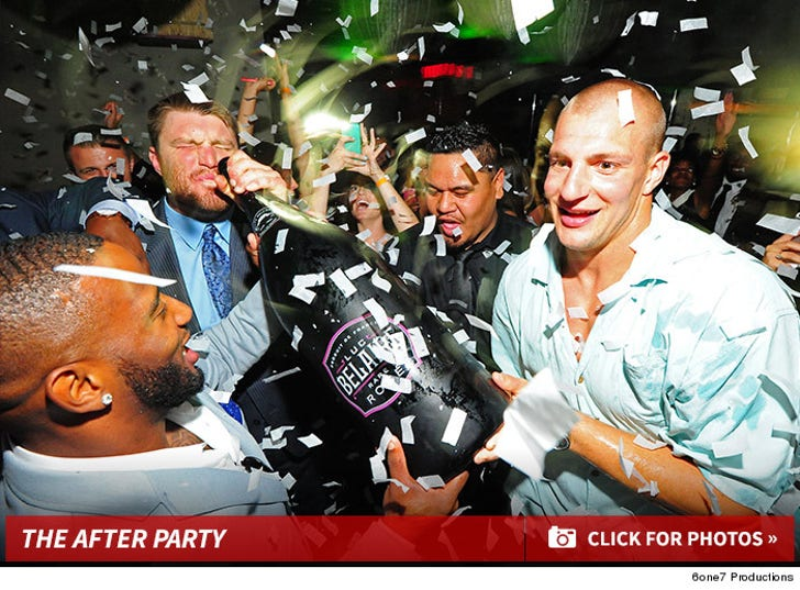 Patriots after party
