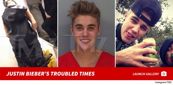 Justin Bieber's Troubled Times