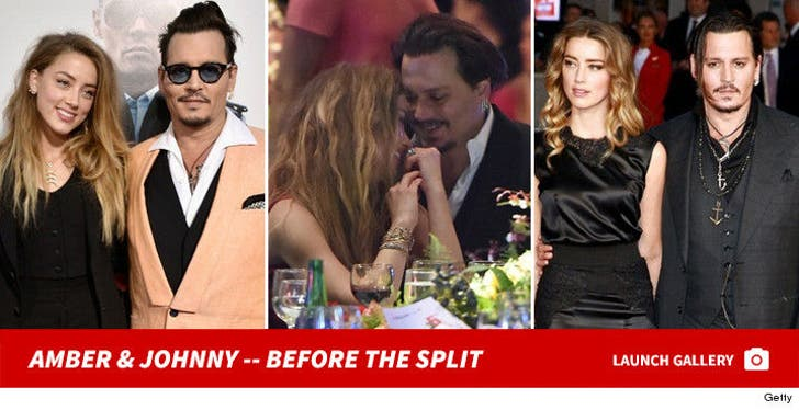 Amber Heard and Johnny Depp Together