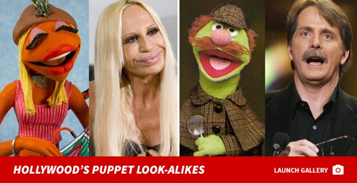 Hollywood's Puppet Look-alikes