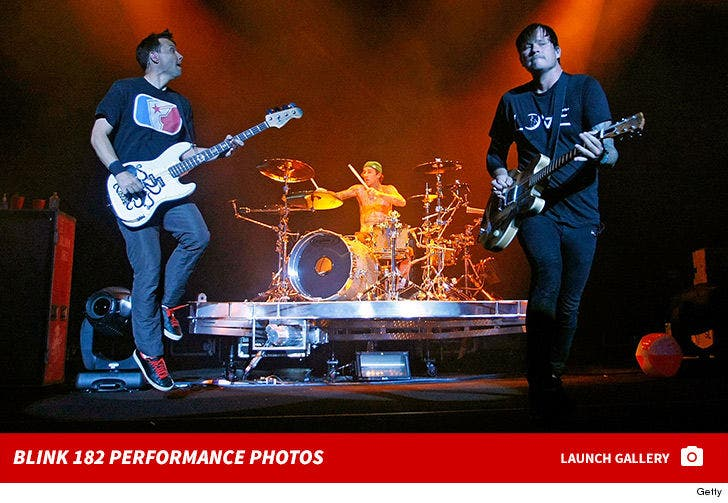 Blink 182 Performance Photos