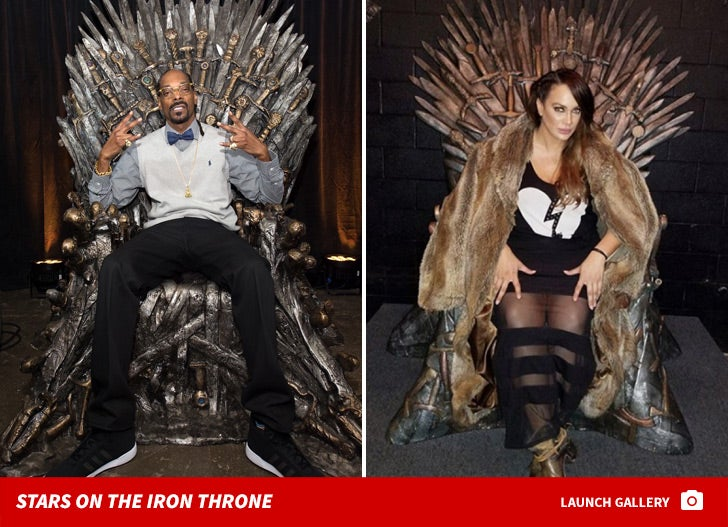 Stars On The Throne -- 'GoT' Famous Fans