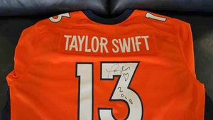 Taylor Swift Signed Broncos Jersey Hits Auction Block, Haters Gonna Hate