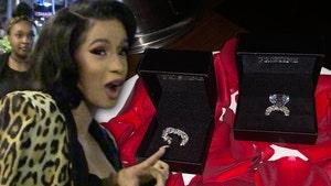 Cardi B's Birthday Diamond Ring Worth More Than $1 Million