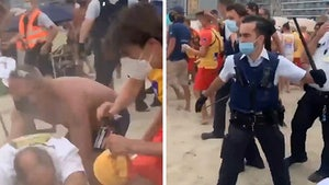 Massive Brawl Breaks Out at Belgian Beach, Cops Versus Rowdy Public