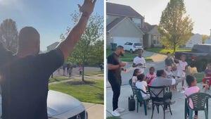 OSU's Jonathon Cooper Mobbed By Neighborhood Kids After NFL Draft Pick, Adorable Video!