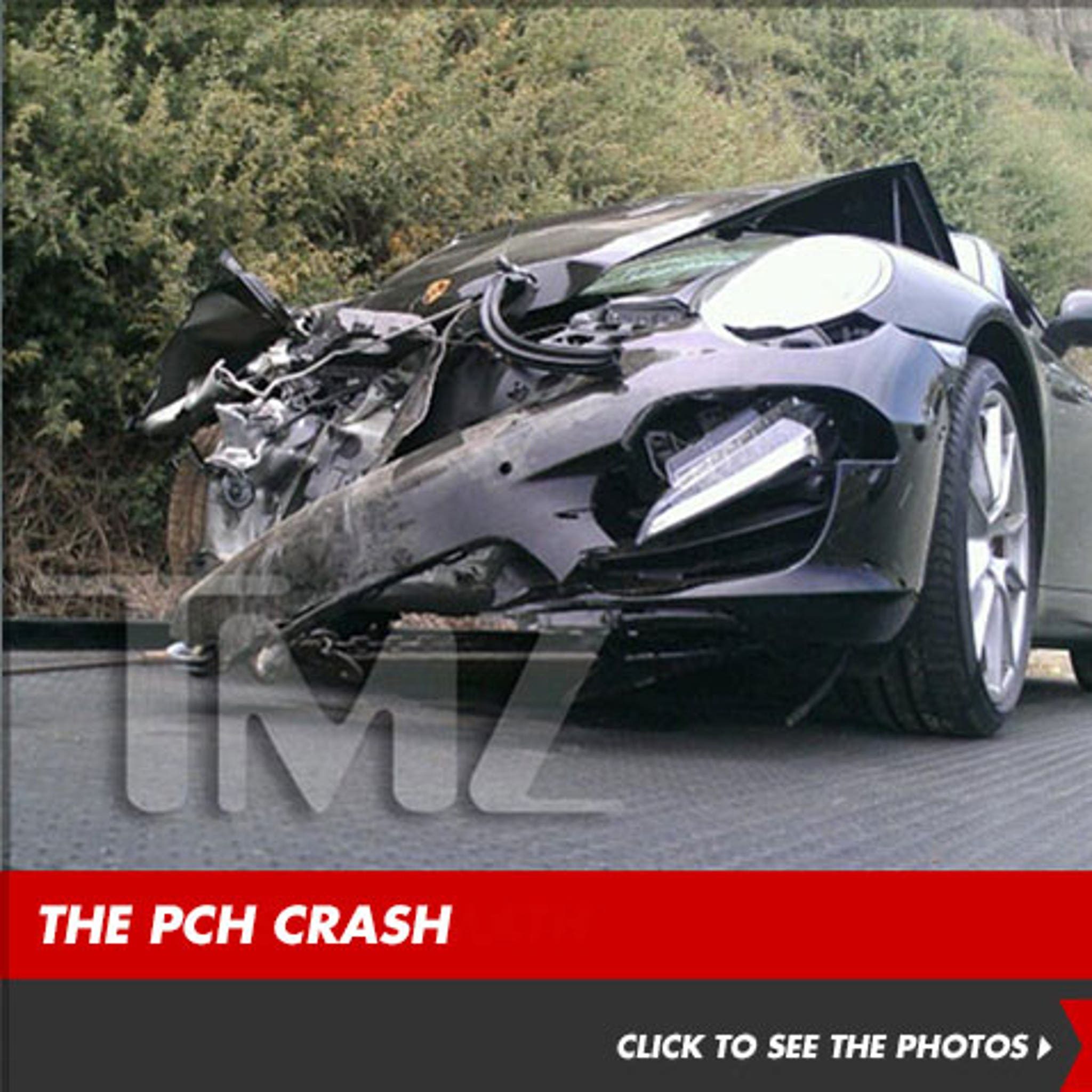 Lindsay Lohan Sued Over PCH Car Accident