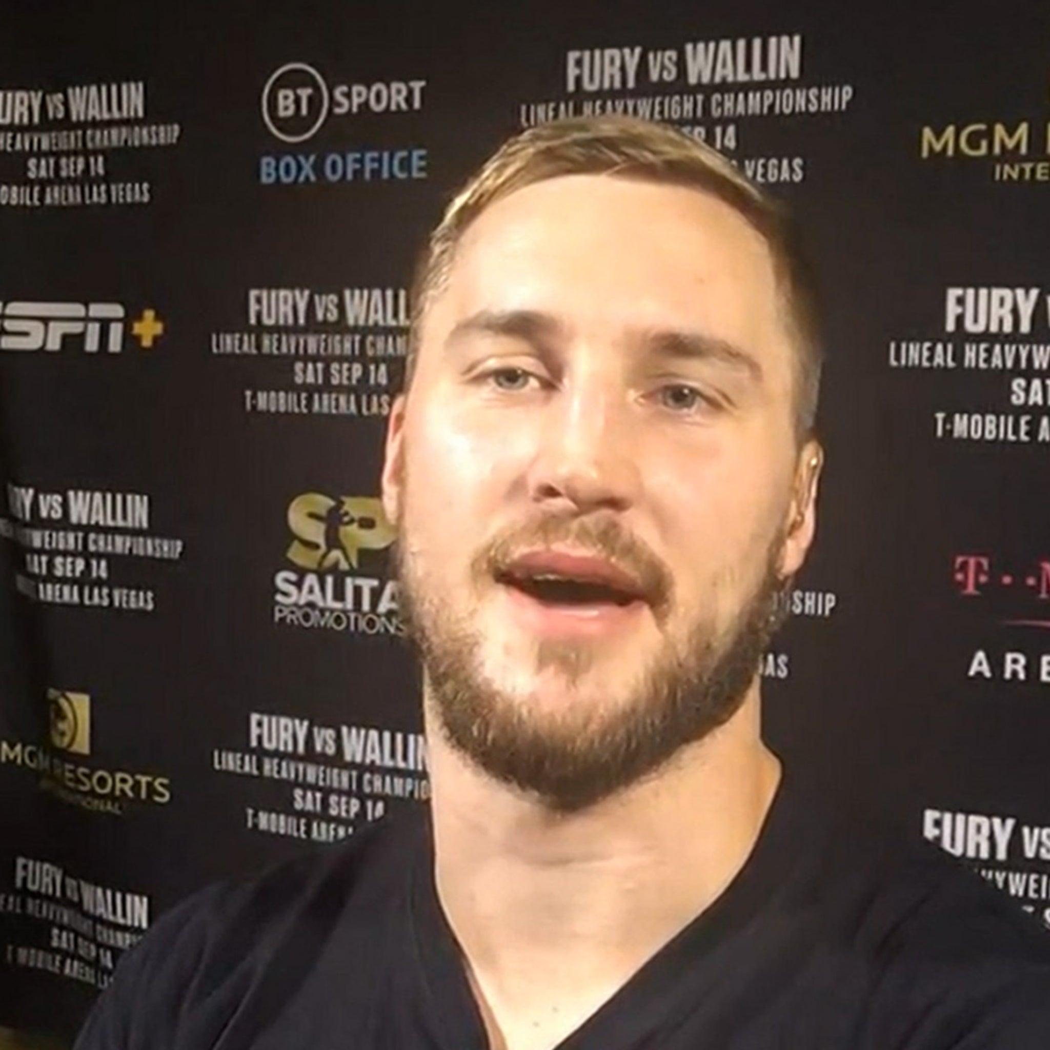 Underdog Boxer Otto Wallin Says Andy Ruiz's Inspiring Him To Beat Tyson Fury