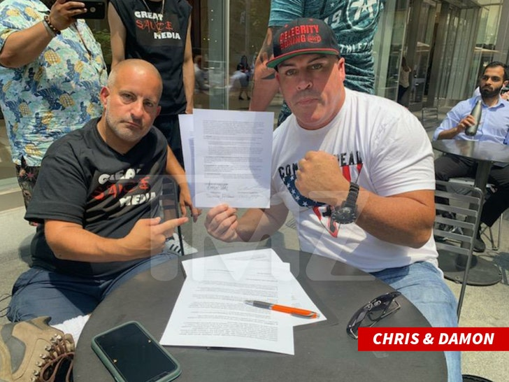 Bagel Boss Guy Chris Morgan Signs Deal To Fight Other Viral