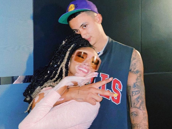 Kyle Kuzma and Winnie Harlow Together