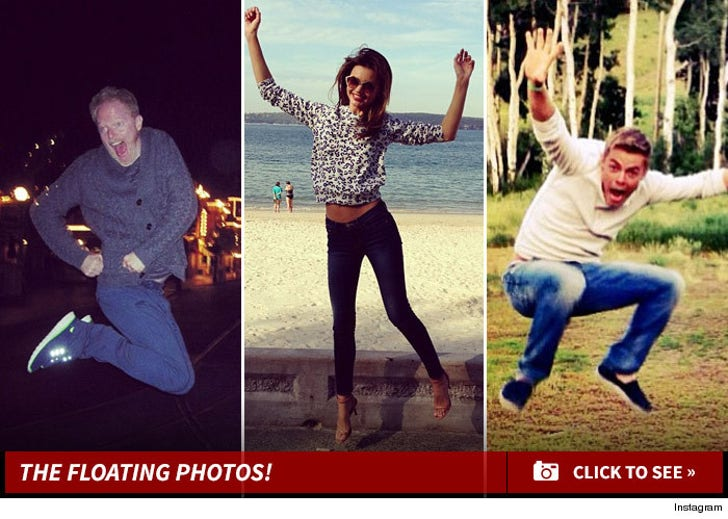 Stars Jumping for Leap Year!