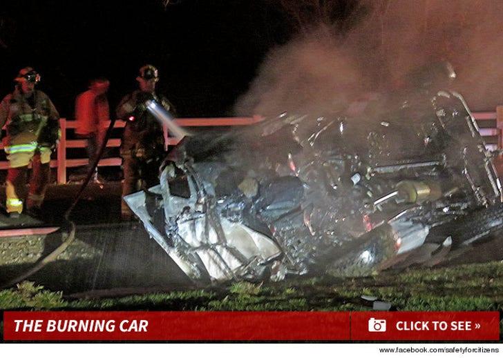Jamie Foxx Saves Driver
