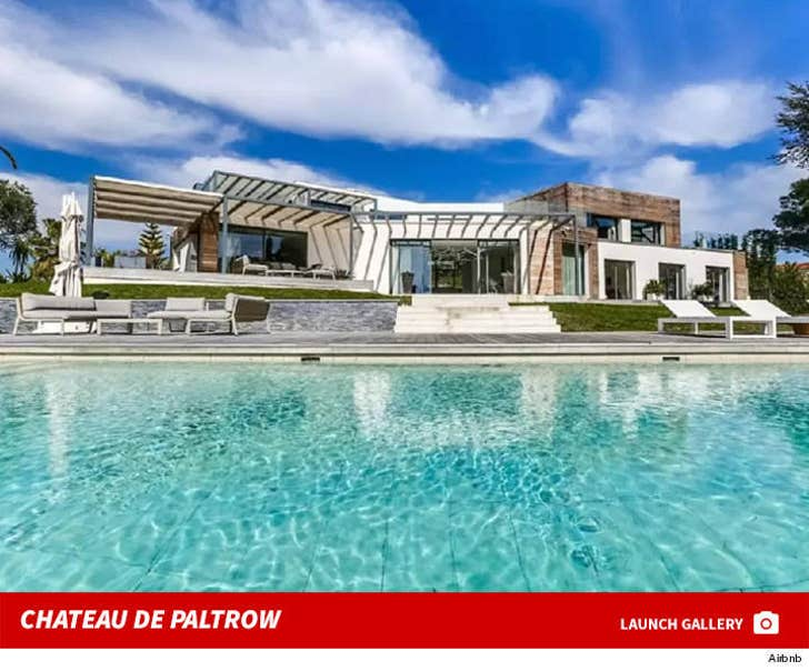 Gwyneth Paltrow's French Chateau