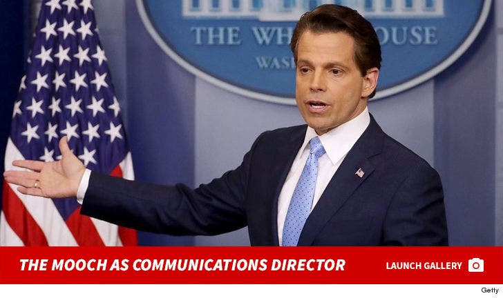 Remembering The Mooch As Communications Director