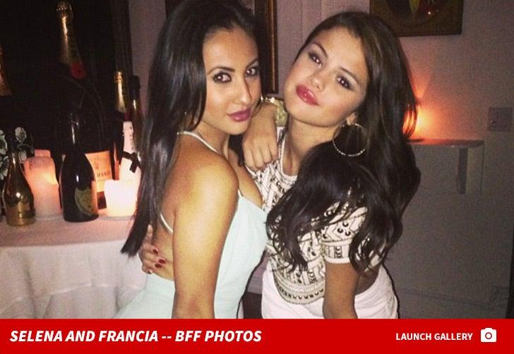 Francia Raisa and Selena Gomez -- BFF Photos