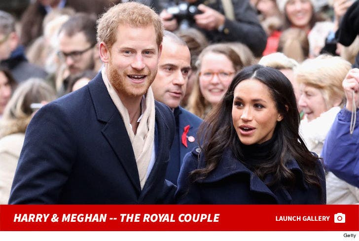 Prince Harry and Meghan Markle -- The Royal Couple