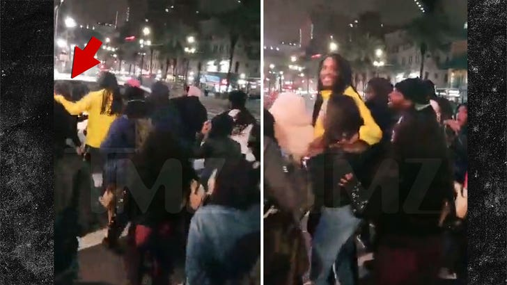 Waka Flocka Flame Saves Selfie-Taking Fan From Being Hit ...