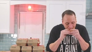 Joey Chestnut Eats 32 Big Macs In 38 Minutes, Sets World Record!
