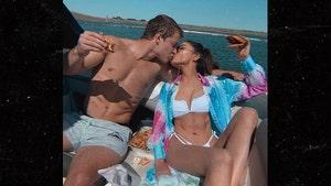 Olivia Culpo, Christian McCaffrey Show Off Shredded Bods During Boat Dinner Date