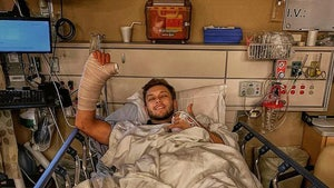 MLB Pitcher Cam Hill Hospitalized After Car Crash, Surgery on Throwing Wrist