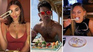 Stars Who Love Sushi