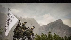Taliban Soldiers in American-Like Gear Recreate WWII Iwo Jima Flag Shot