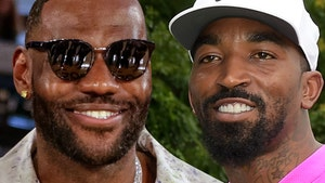 LeBron James 'So Happy And Proud' Of J.R. Smith's College Golf Career