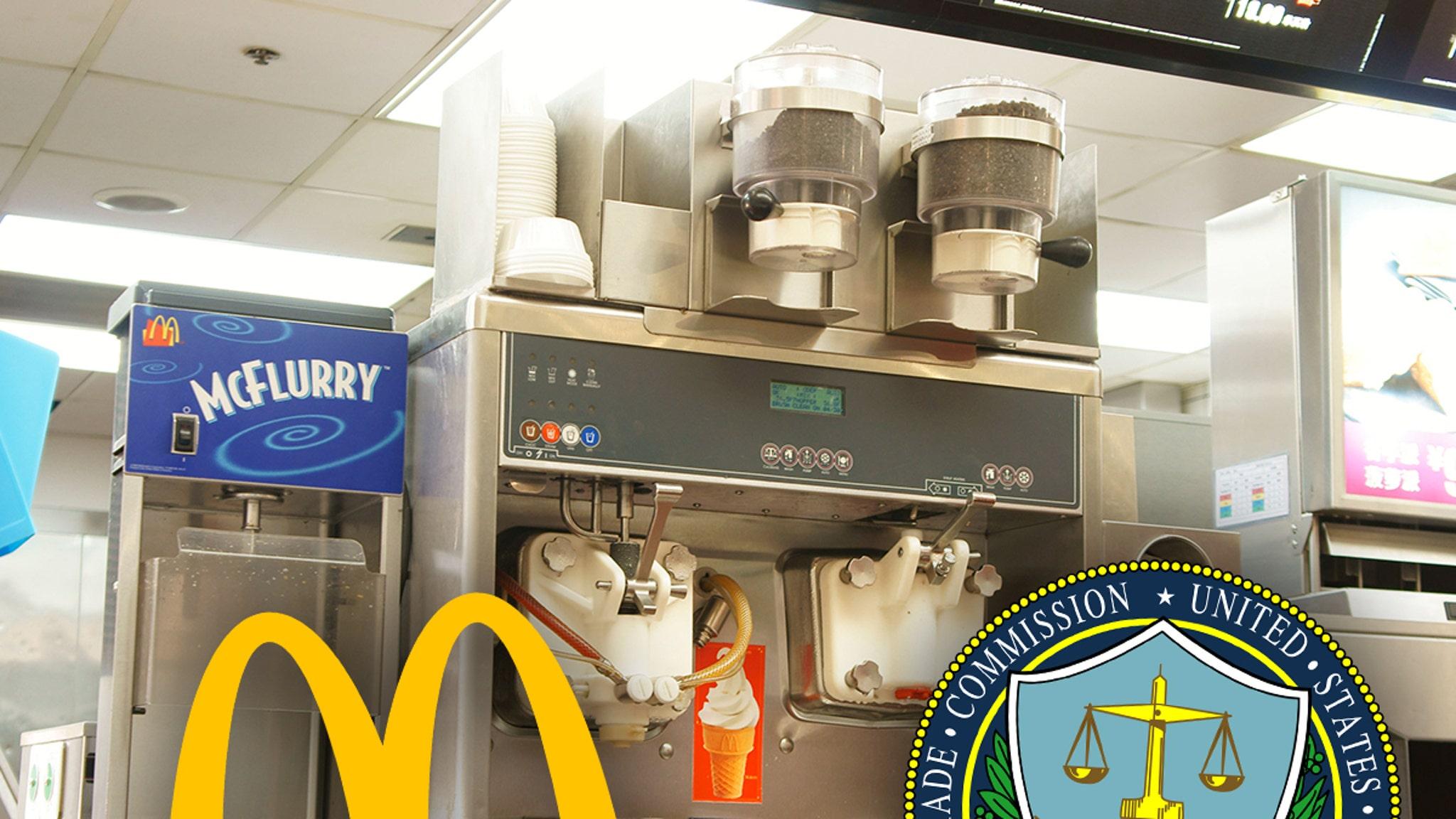 McDonalds' Always-Broken McFlurry Machines Get FTC's Attention