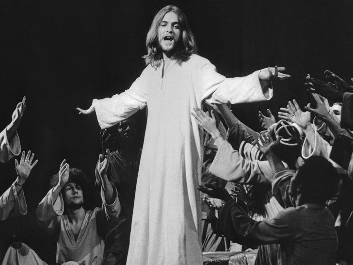 """Jeff Fenholt in """"Jesus Christ Superstar"""""""