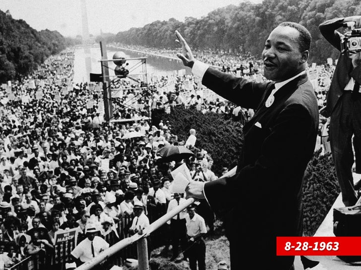 The Historic Freedom March on Washington in 1963