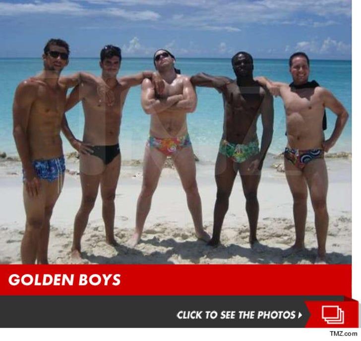 Michael Phelps Vacation