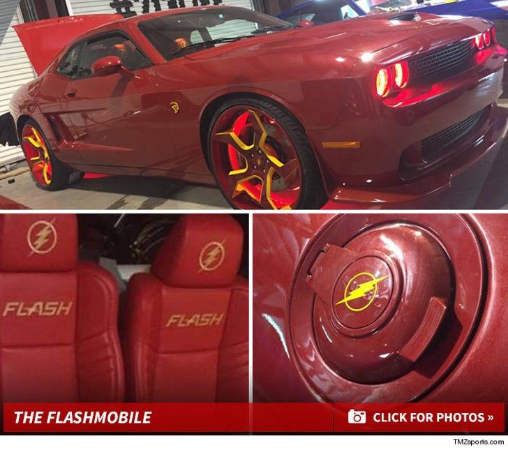 Dwight Howard's Flashmobile