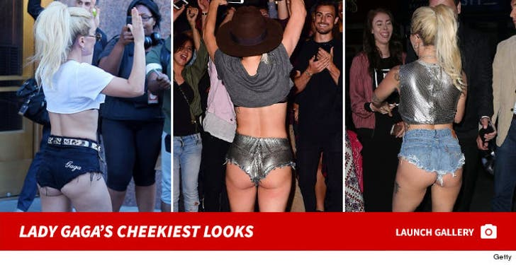 Lady Gaga's Cheekiest Looks