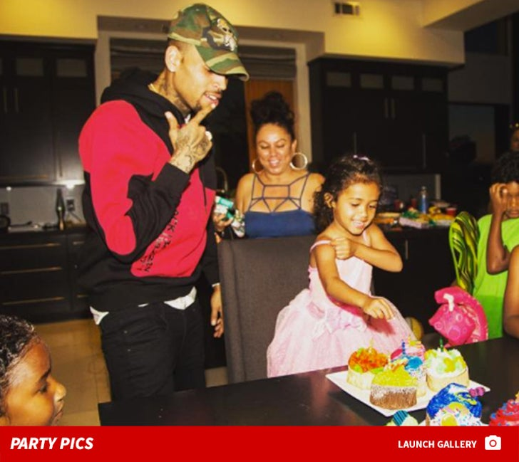 Chris Brown Throws Best 3rd Birthday Party for Daughter Royalty