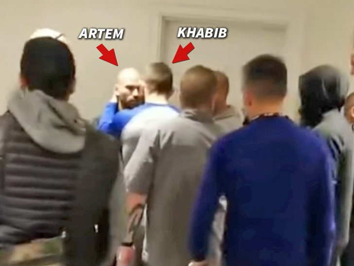UFC's Khabib Nurmagomedov Confronts Conor McGregor's BFF in