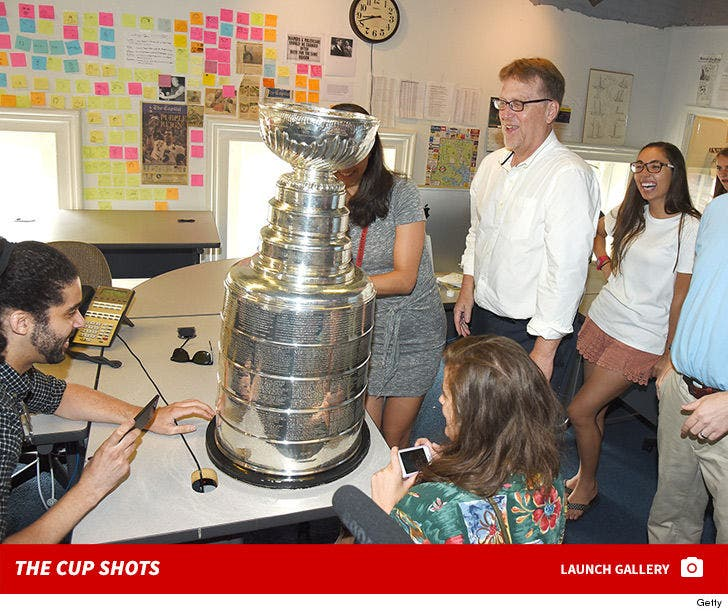 NHL Stanley Cup Arrives at The Capital Gazette Office
