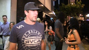 Aaron Rodgers -- HITS THE CLUBS ... Still a Sore Loser