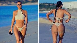 Kim Kardashian's Sexy Bikini Getaway in Mexico