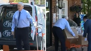 Mike Pence Jokes About PR Stunt While Delivering PPE Supplies