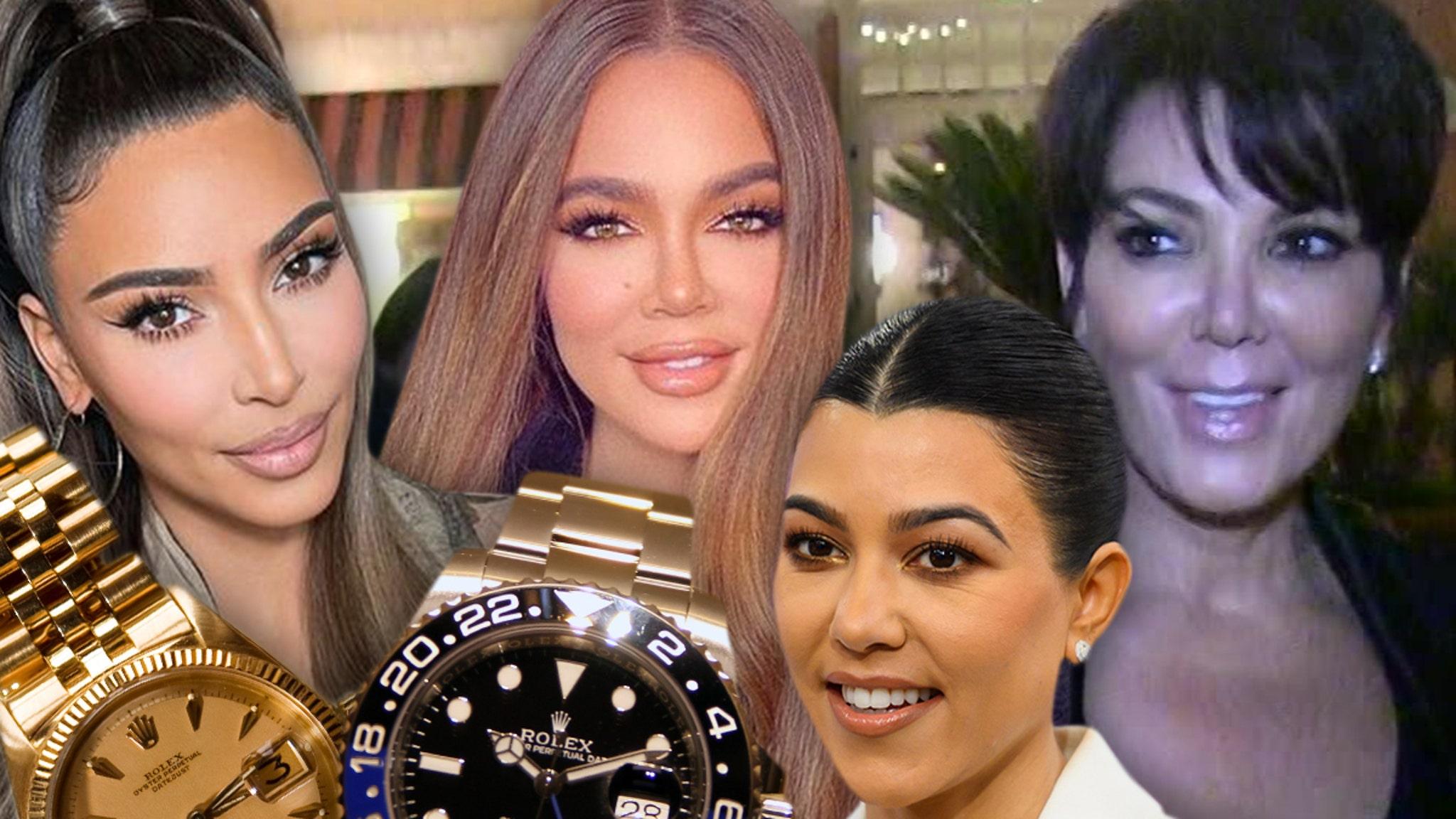 Kardashians Give 'KUWTK' Crew Rolex Watches After Final Episode