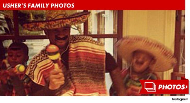 Usher's Family Photos